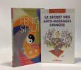 Le secret des auto-massages chinois + Feng Shui au bureau (Gunn Graham) --- 2 livres. Stettler Sandra  Stettler Olivier