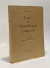 Précis historique de phonétique française - 9e édition revue par les soins de Jean Bourciez. Bourciez Edouard