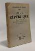 De la république --- essai sur la future constitution de la France. Simon Pierre-henri