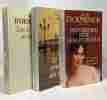 Le vent du soir + Tous les hommes sont fous + Mon dernier rêve sera pour vous (une biographie sentimentale de Chateaubriand) --- 3 livres. Ormesson ...