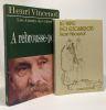 Henri Vincenot. A Rebrousse-poil + Le pape des escargots --- 2 volumes. Vincenot Henri