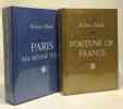 Fortune de France + Paris ma bonne ville --- 2 livres. Merle Robert
