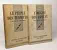 L'origine des espèces + Le peuple des termites --- 2 livres. Feytaud Jean Guyénot Émile