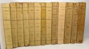 Les contemporains études et portraits littéraires: séries 1 à 8 + Impressions de théâtre: séries 1 à 5 --- 13 volumes. Lemaitre Jules
