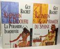 Le roman des pyramides 5 tomes: Khéops et la pyramide du soleil + Képhren et Didoufri La pyramide inachevée + Le rêve de pierre de Khéops + Khéphren ...