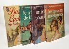 Le masque de l'amour + Un baiser pour le roi + Les amours mexicaines + Un bonheur sans prix --- 4 romans. Barbara Cartland