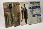 Le vivier + L'araigne + Le mort saisit le vif + Grandeur Nature --- 4 livres. Troyat Henri