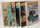 6 romans: Les Noisettes sauvages + trois sucettes à la menthe + Alain et le nègre + Canard au sang + La mort du figuier + David et Olivier. Sabatier ...