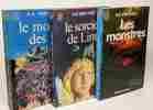 Le monde de A + Le sorcier de Linn + Les monstres --- 3 livres. Van Vogt A.E