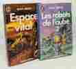 LES ROBOTS DE L'AUBE. Tome 2 + Espace vital -- 2 livres. Asimov Isaac