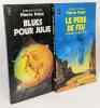 Blues pour Julie + Le père de feu (hommes sans futur) -- 2 livres. Pelot Pierre