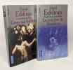 Chant 4 de la Mallorée : La Sorcière de Darshiva + Ceux-qui-brille: la trilogie des périls --- 2 livres. Eddings David