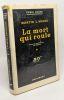La mort qui roule - traduit par F.M. Watkins - série noire. Weiss Martin L
