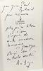 L'Origine du futur --- avec hommage de l'auteur. Berger René