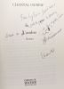 L'Ombre --- avec hommage de l'auteur. Chawaf Chantal