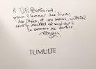 Tumulte : recits --- avec hommage de l'auteur. Bugeon Claude