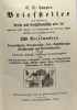 Neuester Briefsteller für alle fälle des menschlichen Lebens - 37 verbesserte auflage. Campe G.W