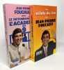 Les eclats de rire de jean-pierre foucault et leon + Le dictionnaire drôle de l'académie des 9 ---- 2 livres. foucault jean-pierre Jean-Pierre