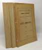 Travaux pratiques de Chimie Agricole - recueil de livrets compilés en un volume: Azote ammoniacal; Extraction et dosage des matières grasses; Azote ...