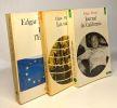 Journal de Californie + Les stars + Penser l'Europe --- 3 livres. Morin Edgar