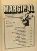 Marginal - anthologie de l'imaginaire n°3 avril/mai 1974 ceux d'ailleurs. Simak Clifford D. Tenn William Sheckley Robert Knight Damon Leinster Murray ...