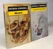Une mort sans nom + Post Mortem + Une peine d'exception + Cadavre X + Dossier Benton + Mordoc --- 6 livres. Cornwell Patricia  Narbonne Hélène