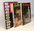 3 livres: Le temps se gâte à Zakopane + Pourquoi tuer le pépé? + Les douceurs provinciales. Exbrayat Charles
