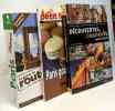 Découvertes insolites autour de Paris + Paris gourmand + Le guide du Routard Paris (2009) --- 3 livres. Lesbros Dominique