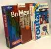 Equateur  2001-2002 + Brésil (lonely planetn en français) + Mexico (le petit fûté) --- 3 guide de voyage Amérique du Sud. Guide du Routard