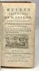 Oeuvres posthumes de M. Pothier dédiées à Monseigneur Le Garde des sceaux de France --- TOME TROISIEME --- contenant les traités de la garde-Noble et ...