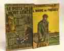 """4 livres coll. """"le petit roman policier"""": Le gardien de but de l'étoile + Le professeur Famyaloh + Le puits de la mort lente + L'homme de Fresnes. ..."""