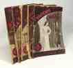 """5 livres collection """"mon roman d'amour"""": jeune fille inconnue + la fée des prés + aimer en rêve + allô! c'est toi Christiane? + printemps d'orage. ..."""