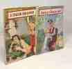 """5 livres collection """"le petit livre"""": à chacun son amour + la femme au fourreau noir + les lois de l'amour + beaucoup d'amour après l'orage + la ..."""