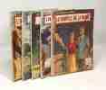 """5 livres collection """"le petit livre"""": l'amour est à bord + rencontre + Rosaria + l'inconnue sur la plage + le souffle de la haine. Collectif"""