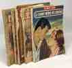 """5 livres collection """"le petit livre"""": sur la route sanglante; soir d'amour; gamine au coeur de femme; l'âme des fleurs; le chant même de l'amour. ..."""