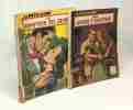 """5 livres collection """"le petit livre"""": le destin mène le jeu + le loup dans la bererie + le dompteur des coeurs + mon amour d'aventure + l'obstacle ..."""
