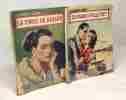 """5 livres collection """"le petit livre"""": les amants maudits + le porte bonheur + la force du hasard + Sylviane a-t-elle tué? + les pirates du coeur. ..."""