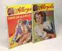 """5 livres collection """"allo police"""": La murène sent le pourri; A côté il y a de la place; Coupe lui le sifflet Jim; Faudra repasser; des guibolles qui ..."""