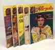 """5 livres collection """"allo police"""": agitez-les; quel fourbi; et puis c'est marre!; ouvre tes portugaise; laisse tomber paterson. Collectif"""
