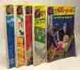 """5 livres collection """"allo police"""": des raketts pour Mézigue!; sacrée petite pépée; ;casse-pipe nickele; rock and roll et belles gambettes; on fait la ..."""