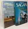 Un Sang D'aquarelle + Les faux-fuyants -- 2 livres. Françoise Sagan
