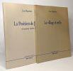La position de Juste et autres récits + Le Village et enfin --- 2 livres. Baptiste Luc