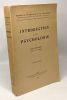 Introduction à la psychologie --- 3e édition --- coll. études de psychologie et de philosophie. Guillaume Paul