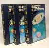 Les secrets de l'astronomie - volume un  deux et trois. Boschetti Sevin Fleuriot