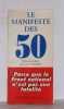Le manifeste des 50. Anonyme