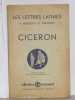 Les lettres latines ciceron. Morisset R.  Thévenot G