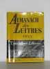 Almanach des lettres 1953. Arland Marcel