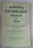Almanach catholique français pour 1929.