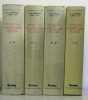 Dictionnaire des littératures de langue française ( 4 vols complets) I : A-D  II E-L  III M-R  IV S-Z. De Beaumarchais Pierre-Augustin  Couty Daniel  ...