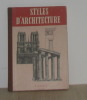 Styles d'architecture. Gradmann Erwin